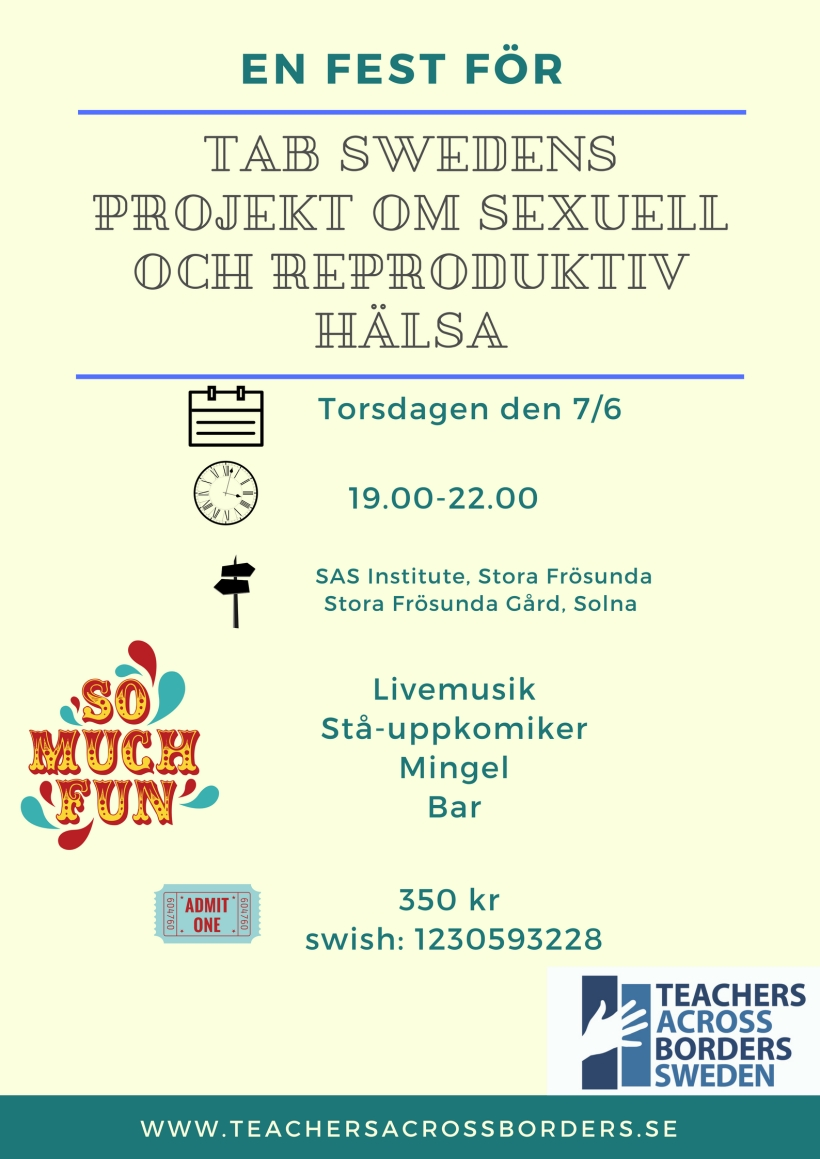 TAb Swedens projekt om sexuell och reproduktiv hälsa (1)